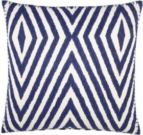 Khava Indigo Decorative Pillow