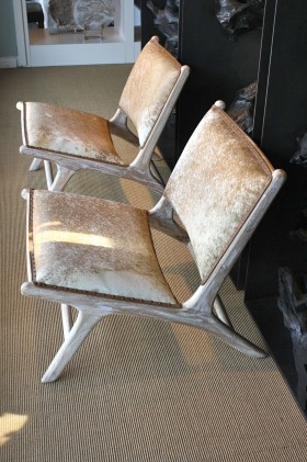 Marlboro Cowhide Chair