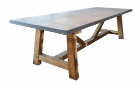 Mathias Blue Stone Dining Table