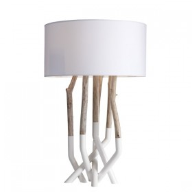 Outline Table Lamp - white