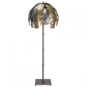 Palm Floor Lamp - Rose Gold