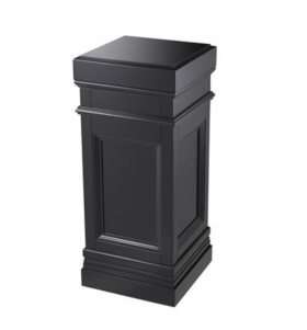 Blacked Pedestal