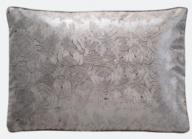 Pewter Decorative Pillow