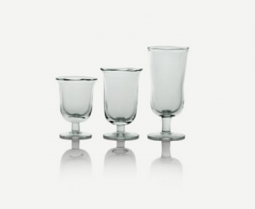 Footed Bistro Glass