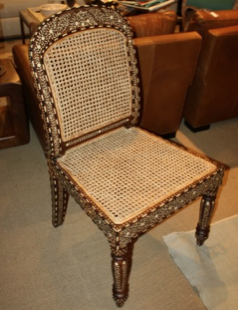 Sally Chair - Bone Inlay