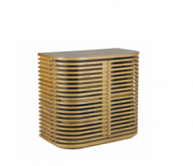 Bel Air Bar - Slatted Teak Wood