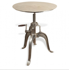 Industrial Collection Adjustable Dining Table