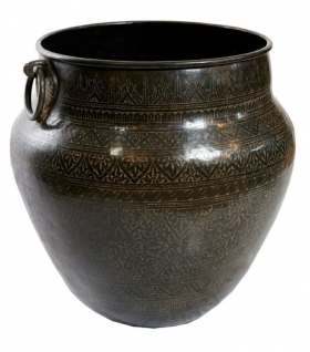 Madrasi Etched Copper Pot
