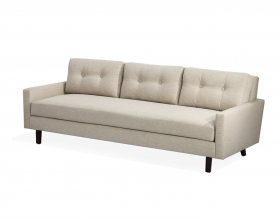 Aventura Two Arm Sofa - Almond