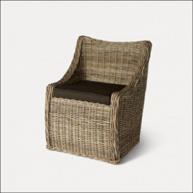 Toscana Rattan Chair With Cushion