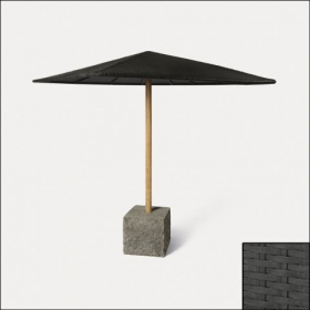 Black Outdoor Umbrella