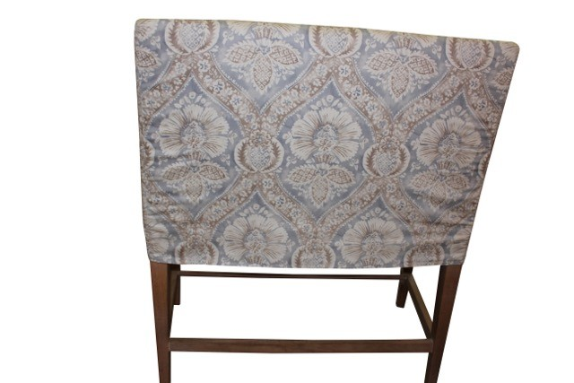 Country Bench Stool Slipcovered Counter Bench